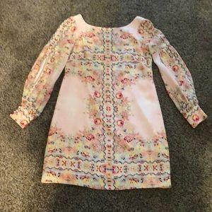 NANETTE LEPORE SZ2 mini/tunic/dress ballet pink